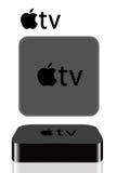 сеть tv яблока Стоковые Фото