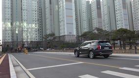 Сеул, Южная Корея 15-ое декабря 2018 Новый палисад 2018 Hyundai видеоматериал