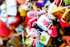 СЕУЛ, ЮЖНАЯ КОРЕЯ - 8-ОЕ ИЮНЯ: Множество ключа для всех замков было Стоковое фото RF
