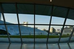 Сеул, Корея 19-ое мая 2017: Площадь дизайна Dongdaemun Стоковые Фотографии RF