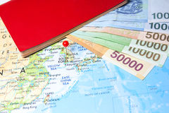 Сеул, назначение перемещения Южной Кореи Стоковые Фотографии RF