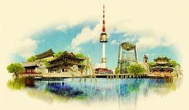 Сеул Стоковое Фото