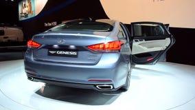 Седан происхождения Hyundai роскошный сток-видео