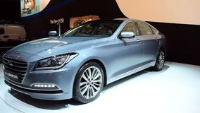 Седан происхождения Hyundai сток-видео