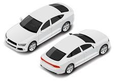 Седан спорта вектора равновеликий высококачественный вектор иллюстрации иконы автомобиля eps10 иллюстрация вектора