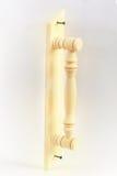 села России Сибиря ручки двери восточные деревянные Стоковая Фотография