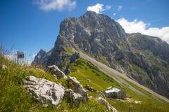 Седловина Kamnik, горные вершины Kamnik Savinja, Словения Стоковая Фотография RF