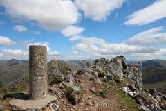Седловина, munro Шотландия Стоковое Изображение RF