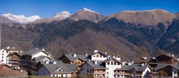 село виска олимпийских мест скита barcelona популярное Стоковое Изображение RF
