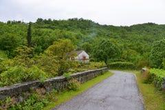 Село в Черногори Стоковые Фотографии RF