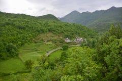 Село в Черногори Стоковое Изображение