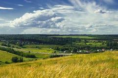 село лета дня совершенное Стоковая Фотография