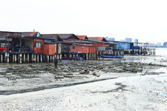 село Испании рыболовства Астурии cudillero Стоковые Фото
