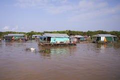 село Камбоджи плавая Стоковые Изображения