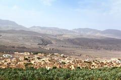 Село al-Hamra, Оман Стоковые Фотографии RF