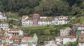 Село Cudillero Стоковая Фотография