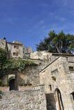 Село Lacoste, Luberon, Франция Стоковые Фото
