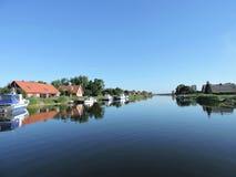 село minge Литвы стоковое фото rf