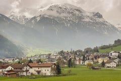 Село Mustair в Швейцарии, Европе. Стоковая Фотография RF