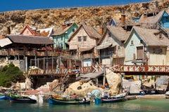 Село Popeye стоковое изображение