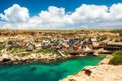 Село Popeye Стоковое фото RF