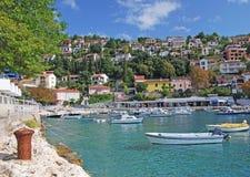 Rabac, Istria, Хорватия стоковые изображения rf