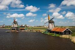 Село Zaanse Schans стоковые изображения