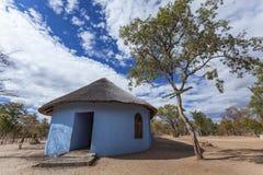 Сельская баптистская церковь Стоковое Изображение RF