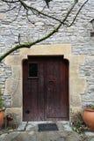 Сельская входная дверь дома Стоковая Фотография