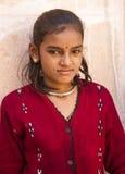Сельская девушка Стоковое Фото