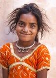 Сельская девушка Стоковые Фотографии RF