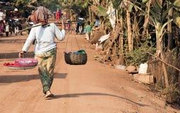 Сельская женщина Стоковое фото RF