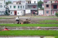 Сельская жизнь в Китае Стоковые Изображения