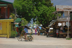 Сельская жизнь в Филиппинах Стоковое Изображение RF