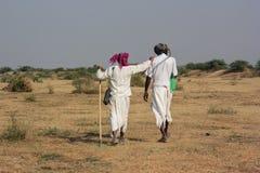 Сельская индийская традиционная одежда 2 Стоковые Изображения