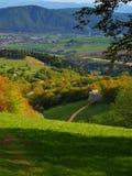 Сельская местность весной Стоковое Фото
