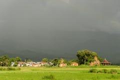 Сельская местность вокруг озера Inle, Мьянмы Стоковые Изображения RF