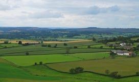 Сельская местность в Англии Стоковое Изображение
