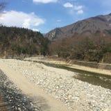 Сельская местность в Японии Стоковая Фотография RF