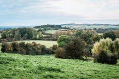 Сельская местность и поля Англии Стоковая Фотография RF