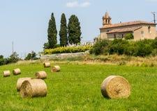 Сельская местность около Альби (Франция) стоковые фото