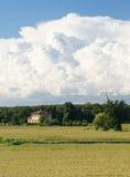 Сельская местность Павии (Италия) стоковое фото