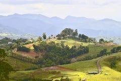 Сельская местность Пуэрто-Рико Стоковое Изображение RF