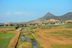 Сельская местность, Северная Корея стоковые фото