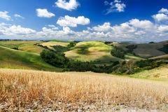 Сельская местность Тосканы Стоковое Изображение RF