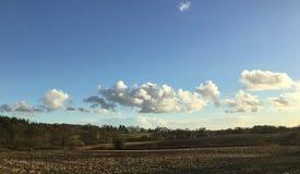Сельская местность Хемпшира стоковые изображения