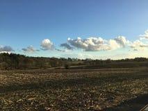 Сельская местность Хемпшира стоковая фотография rf