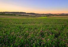 Сельская местность, Чешская Республика Стоковая Фотография RF