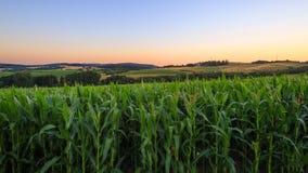 Сельская местность, Чешская Республика Стоковое Изображение