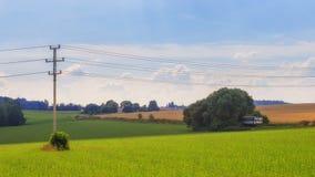 Сельская местность, Чешская Республика Стоковая Фотография